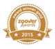 Gewinner - Zoover Awards Gold stamp