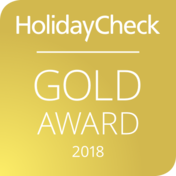 HolidayCheck Gold-Award 2018