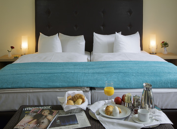 Enjoy your stay in one of our cozy doublerooms