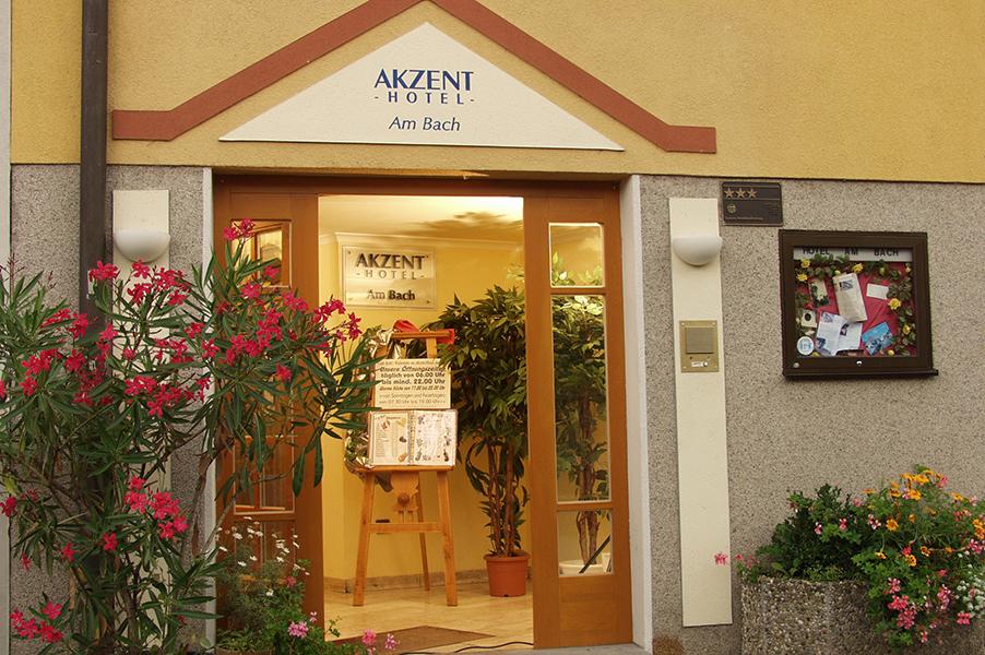 Akzent Hotel Am Bach Willkommen